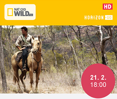 NAT GEO WILD HD - AUSTRÁLSKY KOVBOJ (21. 2 18:00)