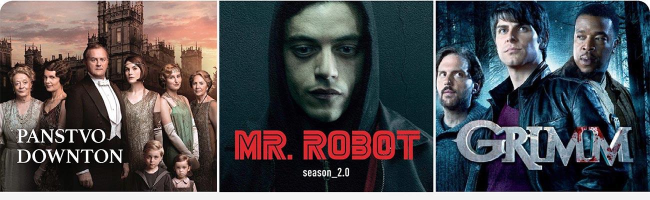 Panstvo Downton, Mr. Robot season_2.0, Grimm