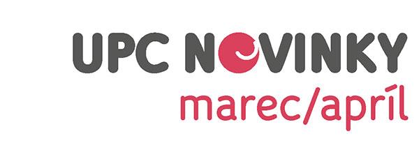 UPC NOVINKY marec/apríl