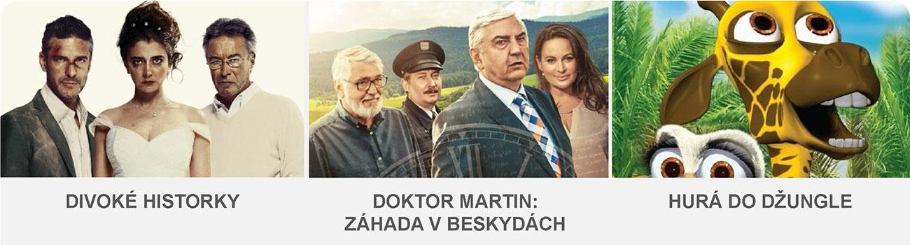 DIVOKÉ HISTORKY / DOKTOR MARTIN:ZÁHADA V BESKYDÁCH / HURÁ DO DŽUNGLE